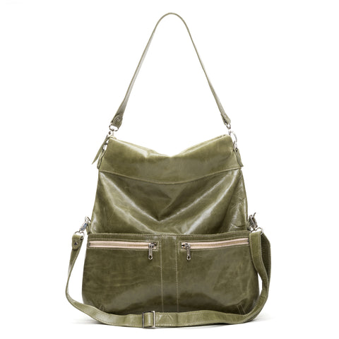 Mini Pamela Crossbody Hobo - Coconut