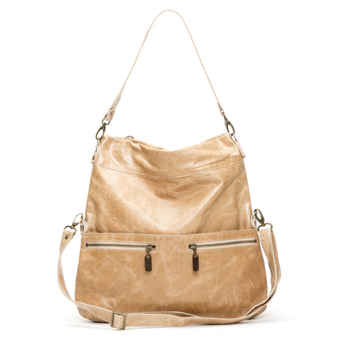 Mini Pamela Crossbody Hobo - Golden Sand