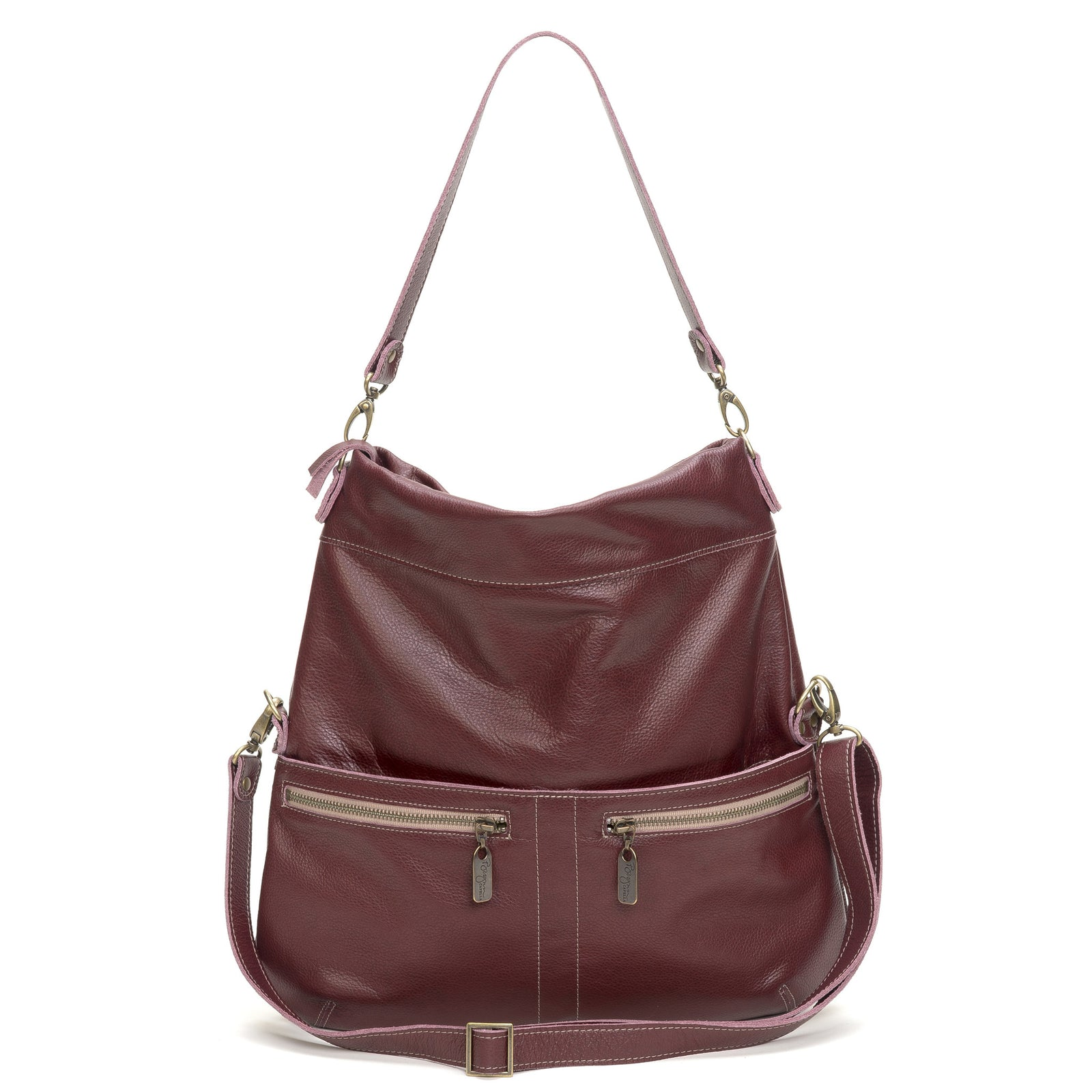 Lauren Crossbody - Free Love - Brynn Capella, Large Crossbody