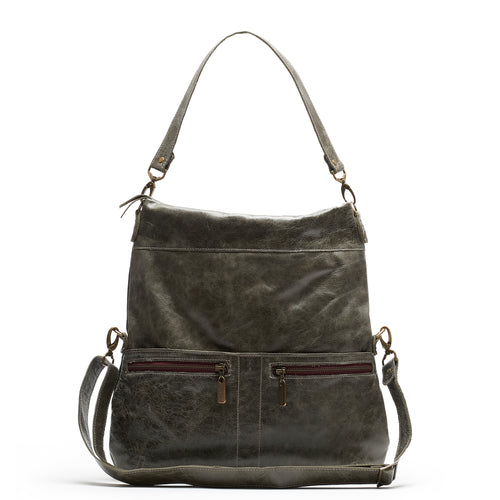 Lauren Crossbody - River Rock - Brynn Capella, Large Crossbody