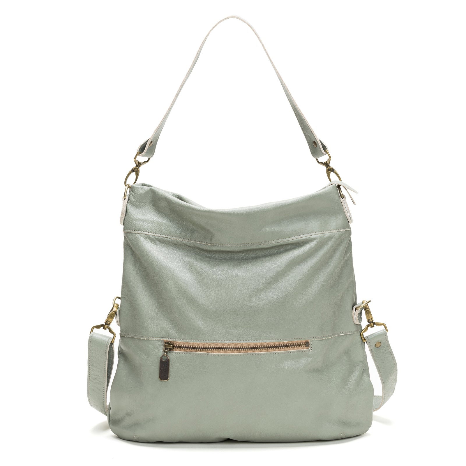 Lauren Crossbody - Sea Breeze - Brynn Capella, Large Crossbody