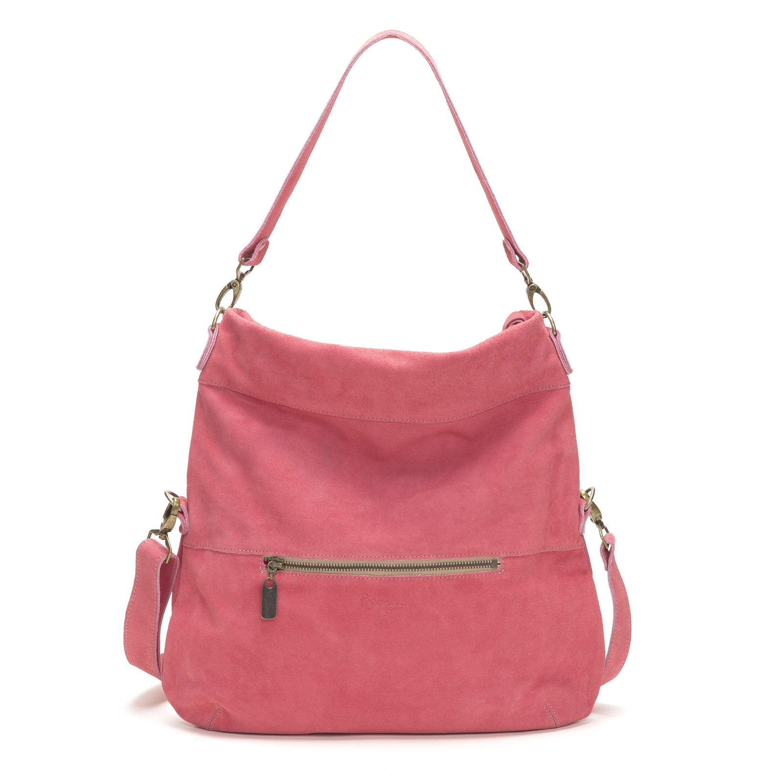Lauren Crossbody - Watermelon - Brynn Capella, Large Crossbody
