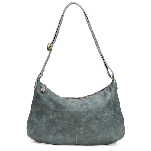 Mini-Pamela Crossbody Hobo - Aquarius