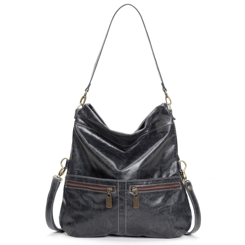 Mini-Lauren Crossbody - Panther - Brynn Capella, Medium Crossbody