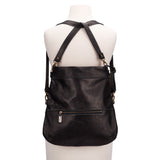 Mini-Lauren Crossbody - Black Sand - Brynn Capella, Medium Crossbody