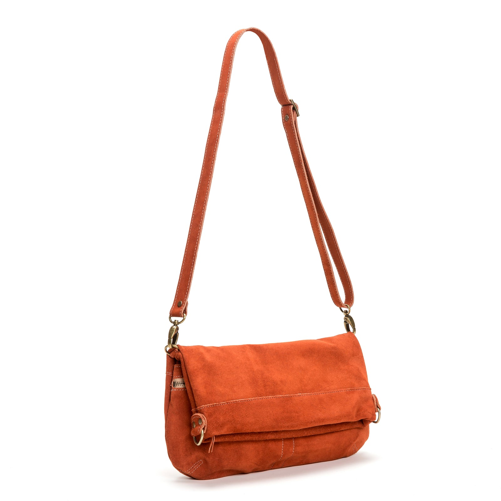 Mini-Lauren Crossbody - Cinnamon - Brynn Capella, Medium Crossbody
