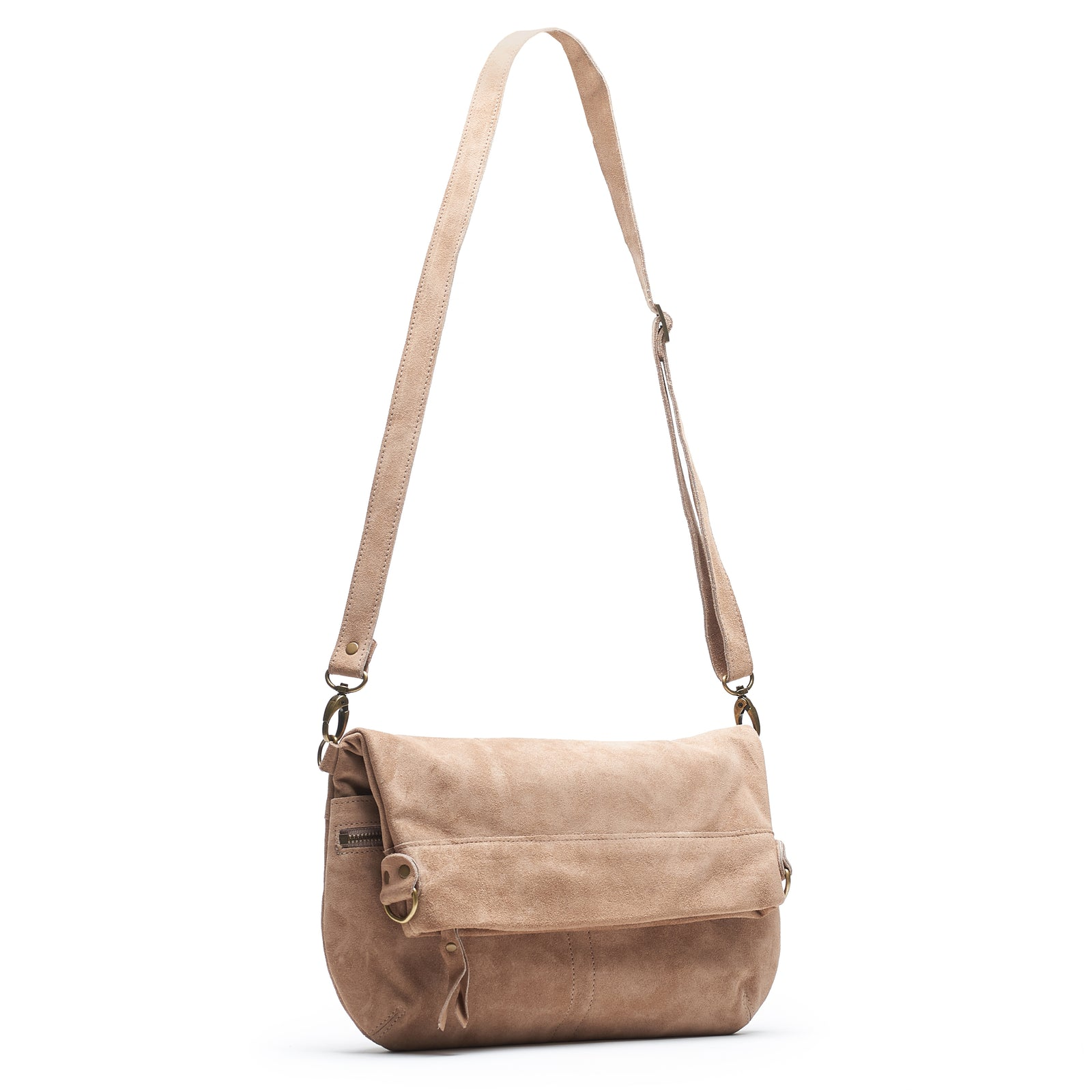 Mini-Lauren Crossbody - Fawn - Brynn Capella, Medium Crossbody
