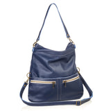 Mini-Lauren Crossbody - Indigo Sky - Brynn Capella, Medium Crossbody