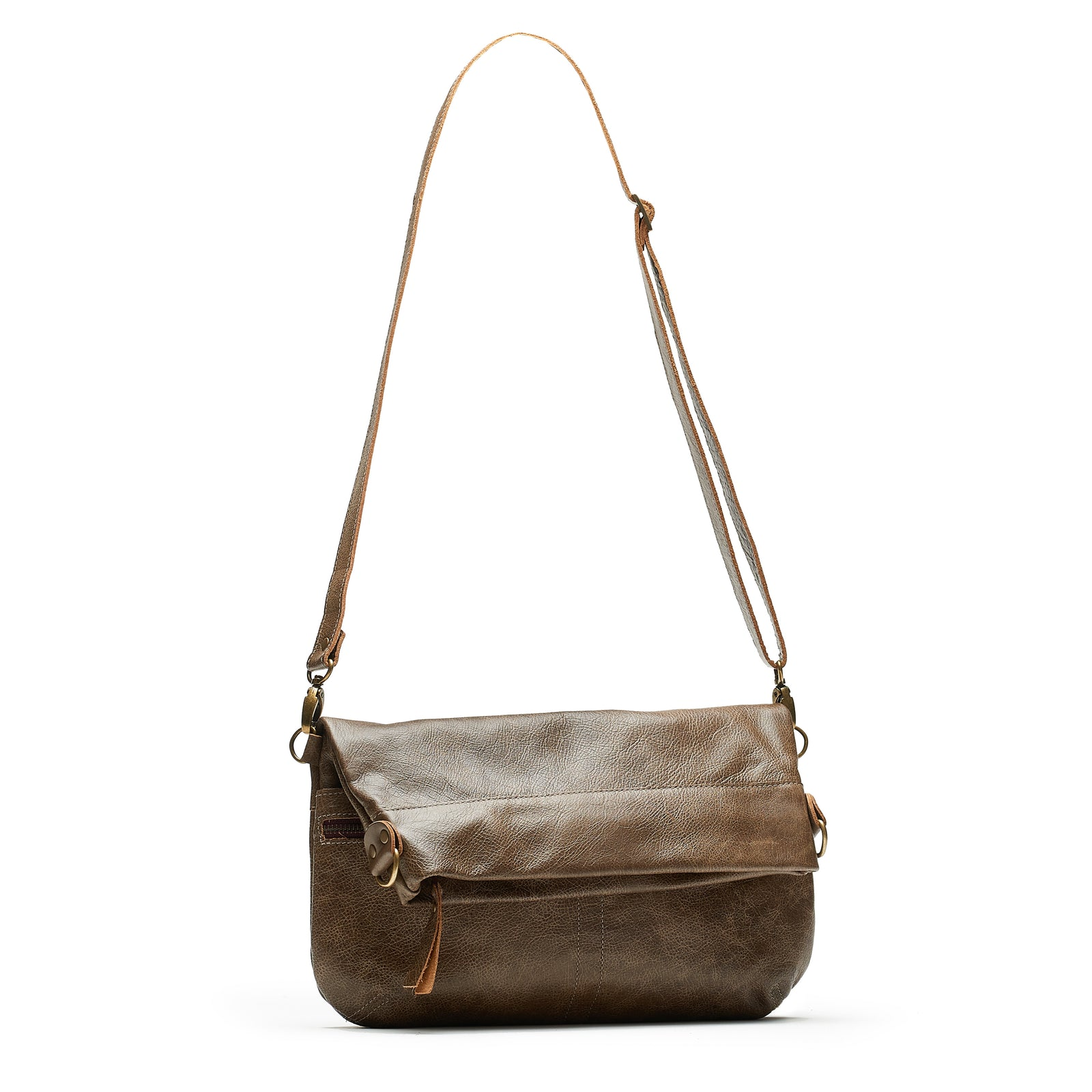 Mini-Lauren Crossbody - Olive Branch - Brynn Capella, Medium Crossbody