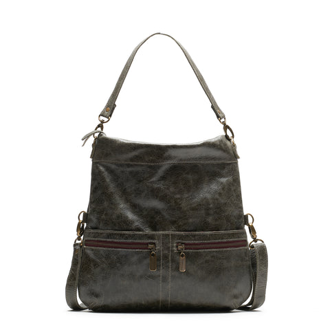 Mini-Lauren Crossbody - Merlot
