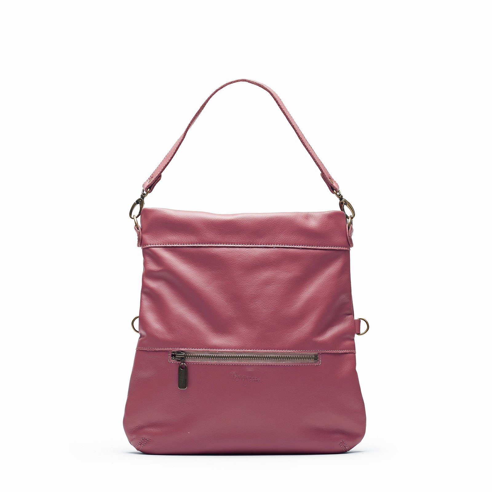 Mini-Lauren Crossbody - Rosewood - Brynn Capella, Medium Crossbody