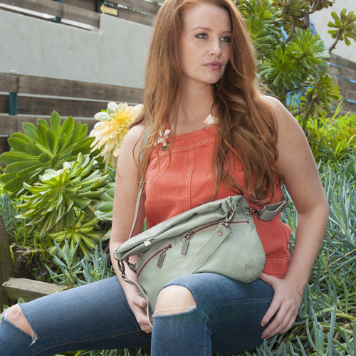 Mini-Lauren Crossbody - Sea Breeze - Brynn Capella, Medium Crossbody