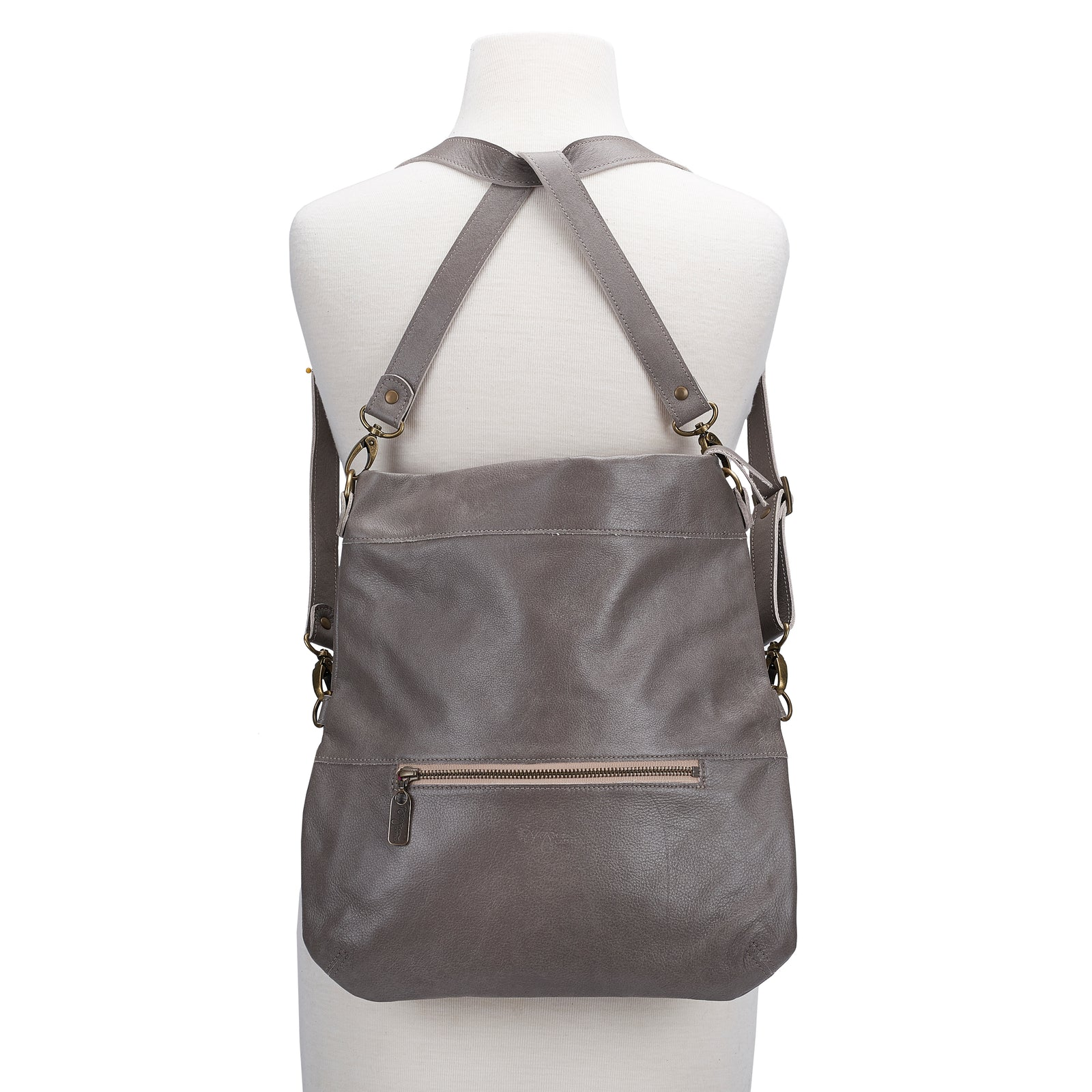 Mini-Lauren Crossbody - Stone Temple - Brynn Capella, Medium Crossbody