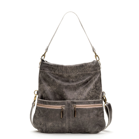 Mini Pamela Crossbody Hobo - Bluebell