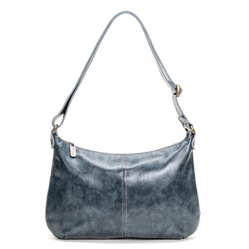 Mini Pamela Crossbody Hobo - Blue Bayou