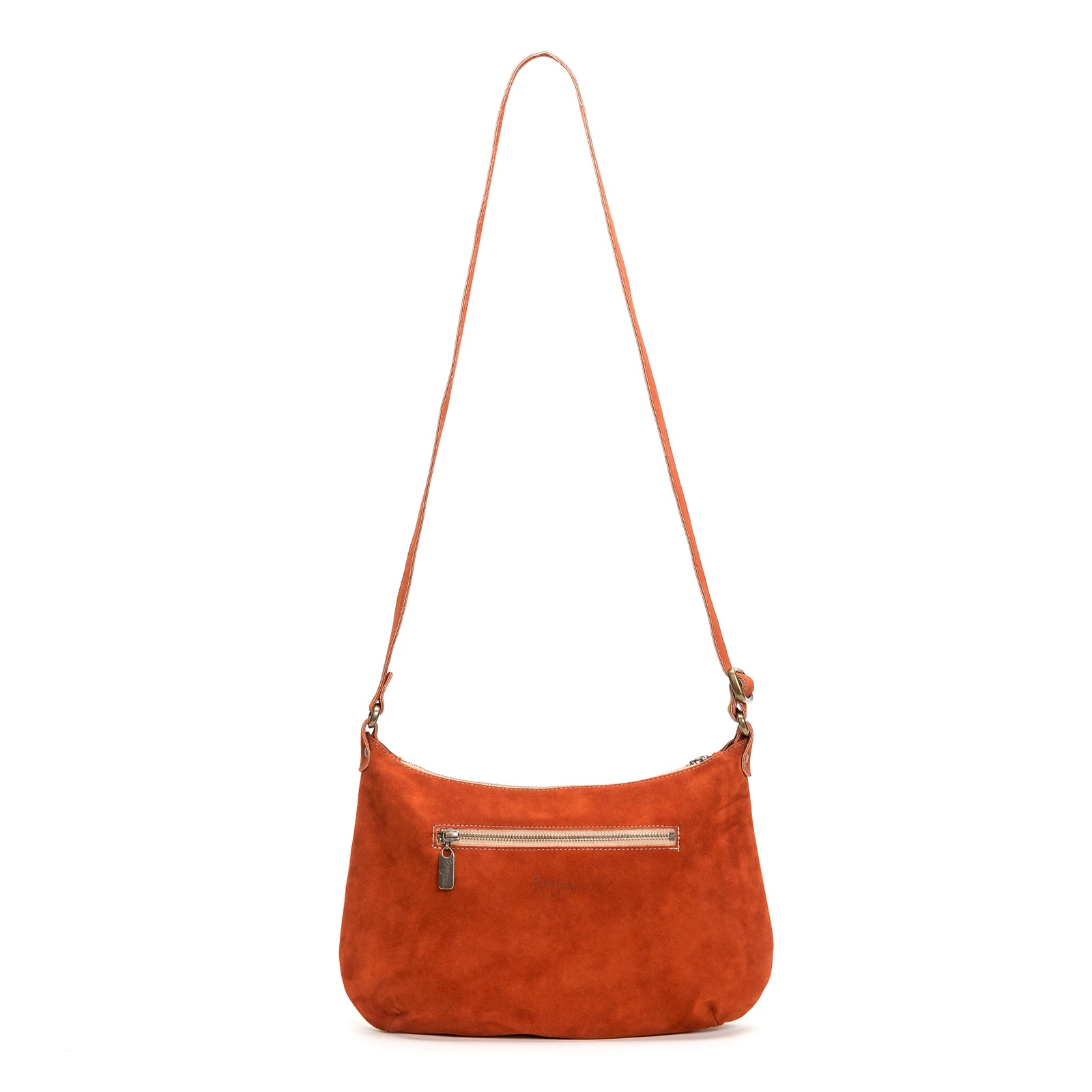 Mini Pamela Crossbody Hobo - Cinnamon - Brynn Capella, Hobo