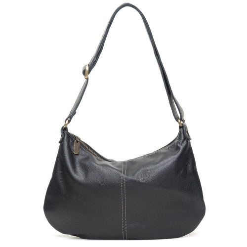 Mini Pamela Crossbody Hobo - Caviar - Brynn Capella, Hobo