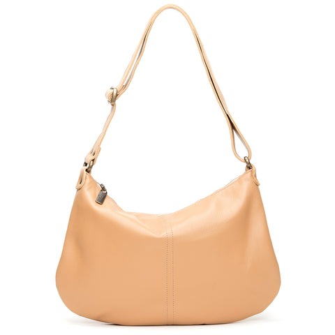 Mini Pamela Crossbody Hobo - Fawn