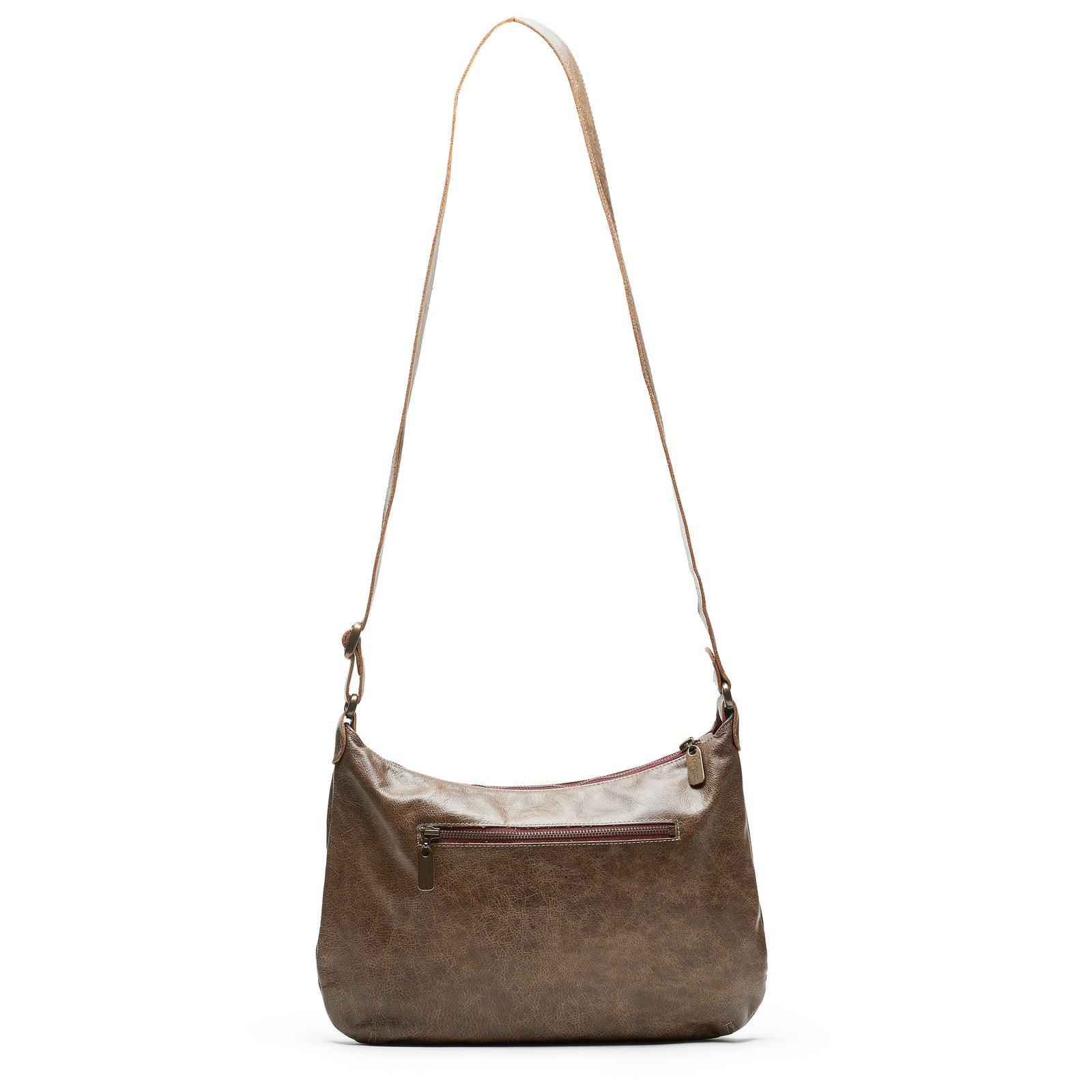 Mini Pamela Crossbody Hobo - Olive Branch - Brynn Capella, Hobo
