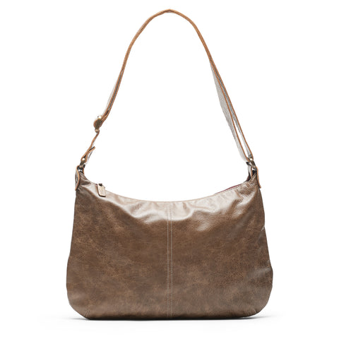Mini Pamela Crossbody Hobo - Rosewood