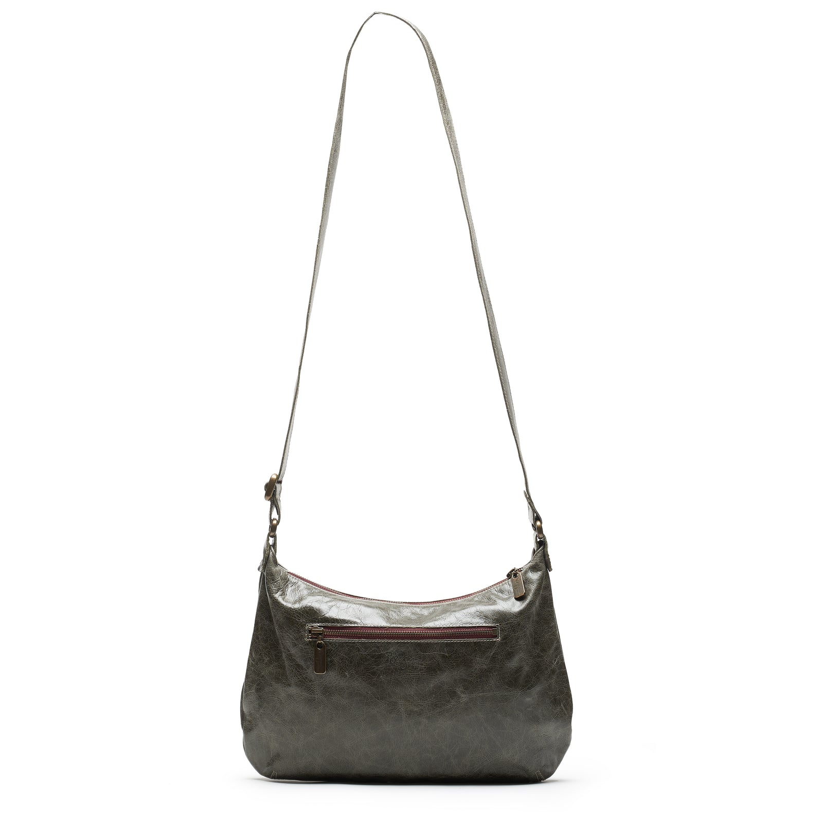 Mini Pamela Crossbody Hobo - River Rock - Brynn Capella, Hobo