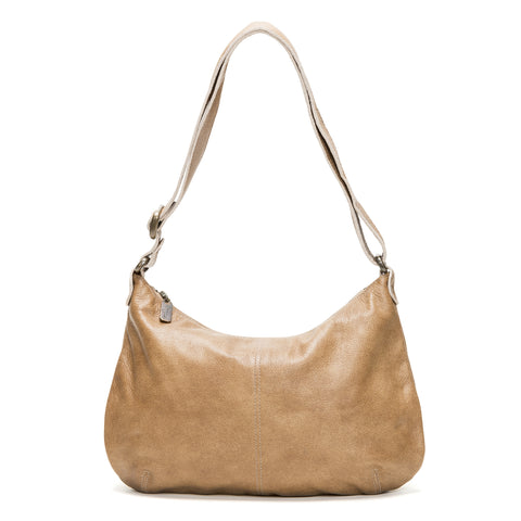 Cher Chain Crossbody - Cream Moccasin