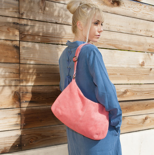 Mini Pamela Crossbody Hobo - Watermelon