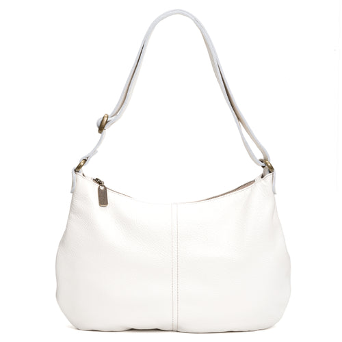 Mini-Pamela Crossbody Hobo - White Tiger