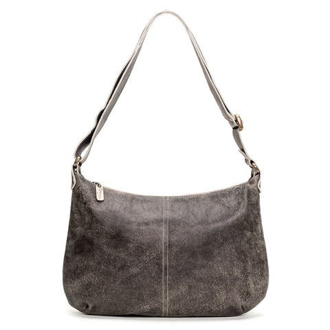 Mini Pamela Crossbody Hobo - Merlot