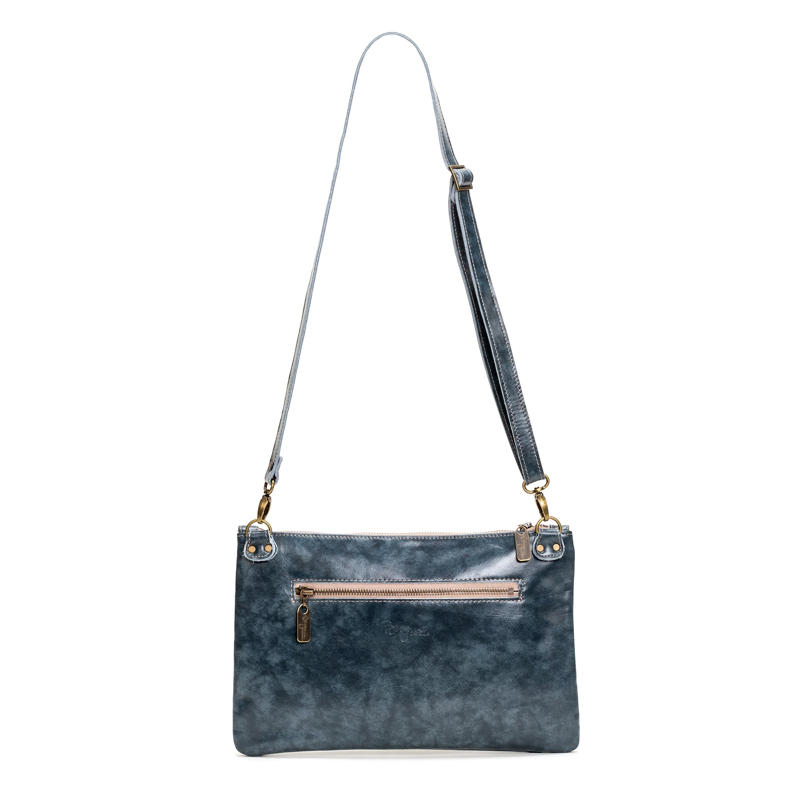 Nikki Clutch/Crossbody - Blue Bayou - Brynn Capella, Small Crossbody