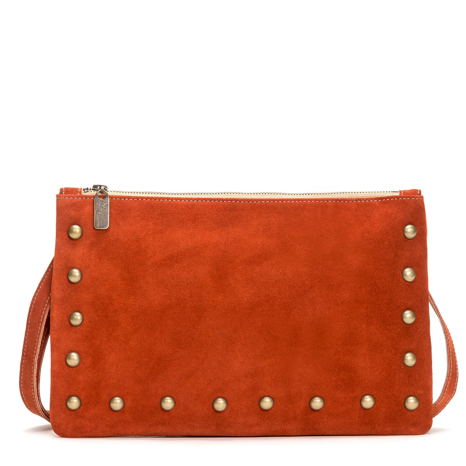 Nikki Clutch/Crossbody - Cinnamon - Brynn Capella, Small Crossbody