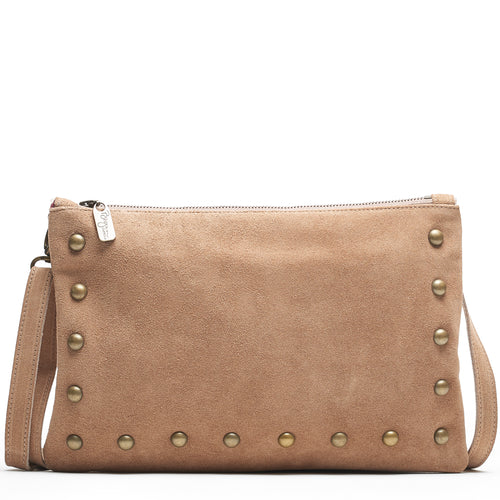 Nikki Clutch/Crossbody - Fawn - Brynn Capella, Small Crossbody