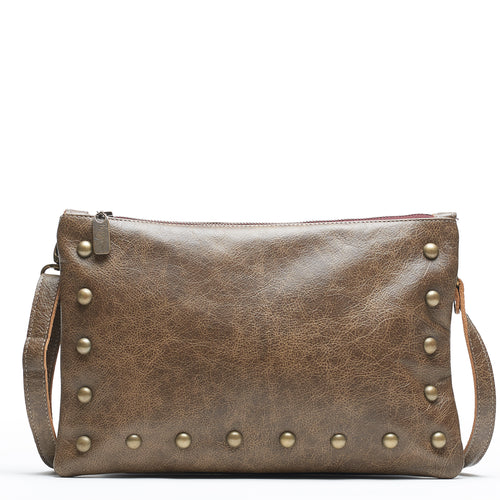 Nikki Clutch/Crossbody - Olive Branch - Brynn Capella, Small Crossbody