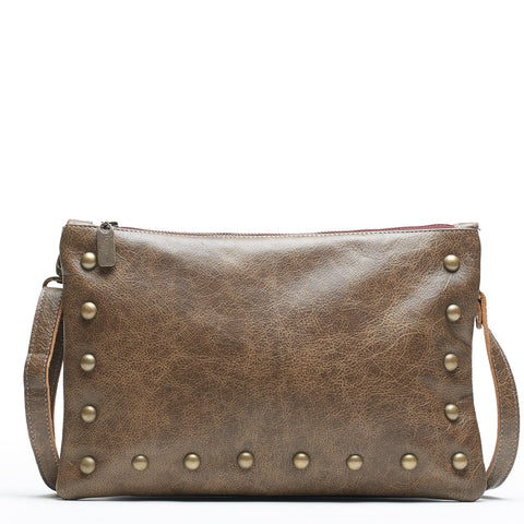 Nikki Clutch/Crossbody - Cinnamon