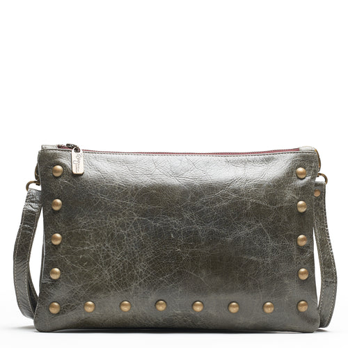 Nikki Clutch/Crossbody - River Rock - Brynn Capella, Small Crossbody