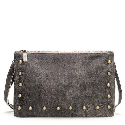 Jenne Foldover Crossbody - River Rock