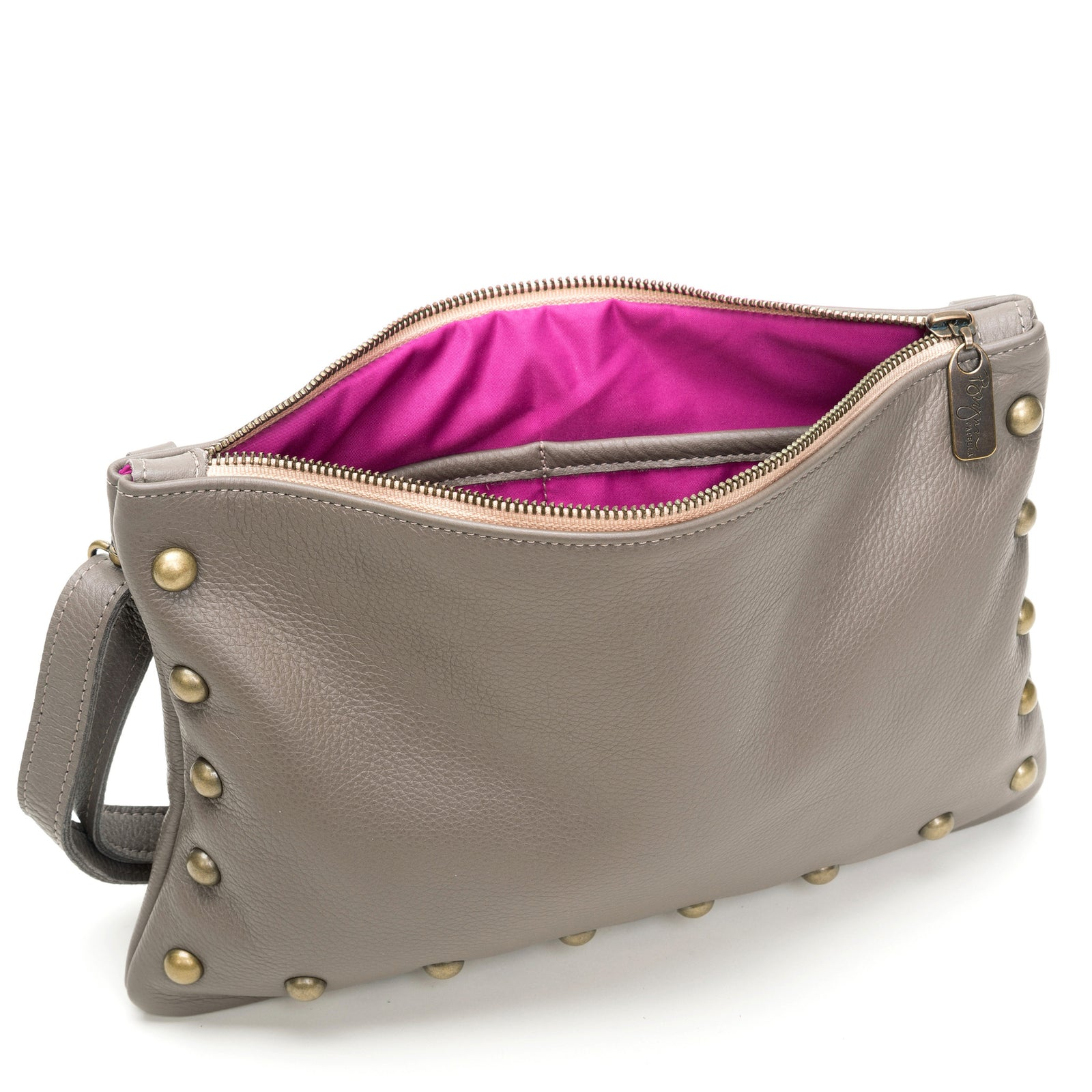 Nikki Clutch/Crossbody - Oyster Shell - Brynn Capella, Small Crossbody