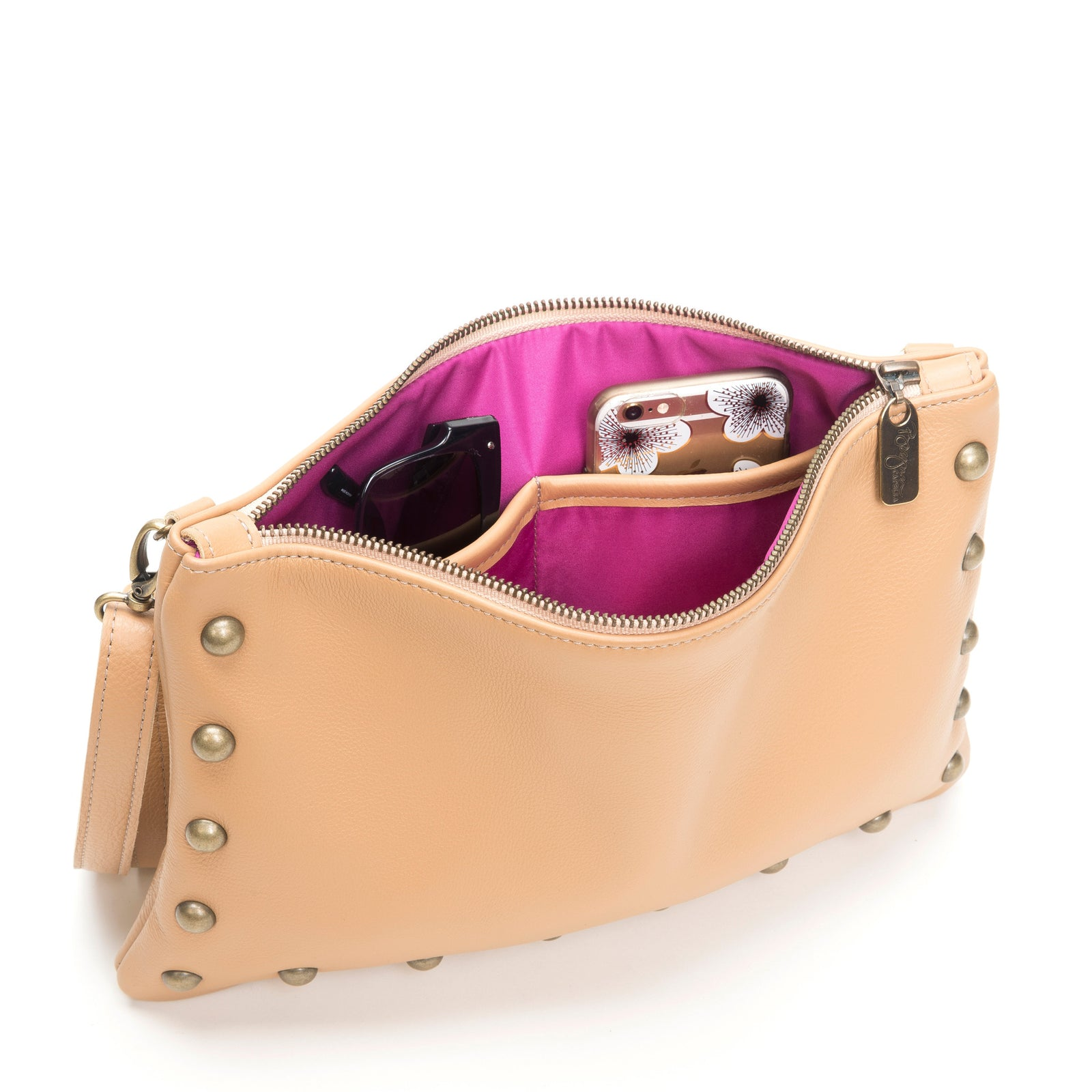 Nikki Clutch/Crossbody - Sand Dunes - Brynn Capella, Small Crossbody