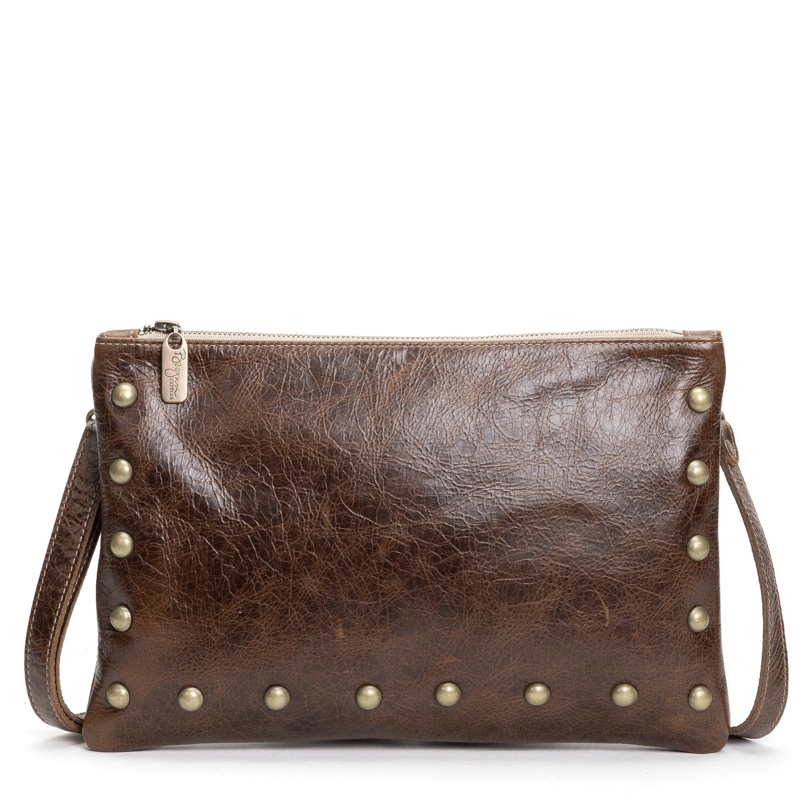 Nikki Clutch/Crossbody - Driftwood - Brynn Capella, Small Crossbody