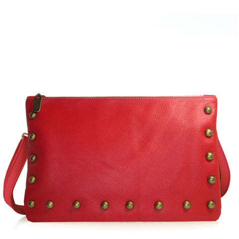 Lauren Crossbody - Merlot