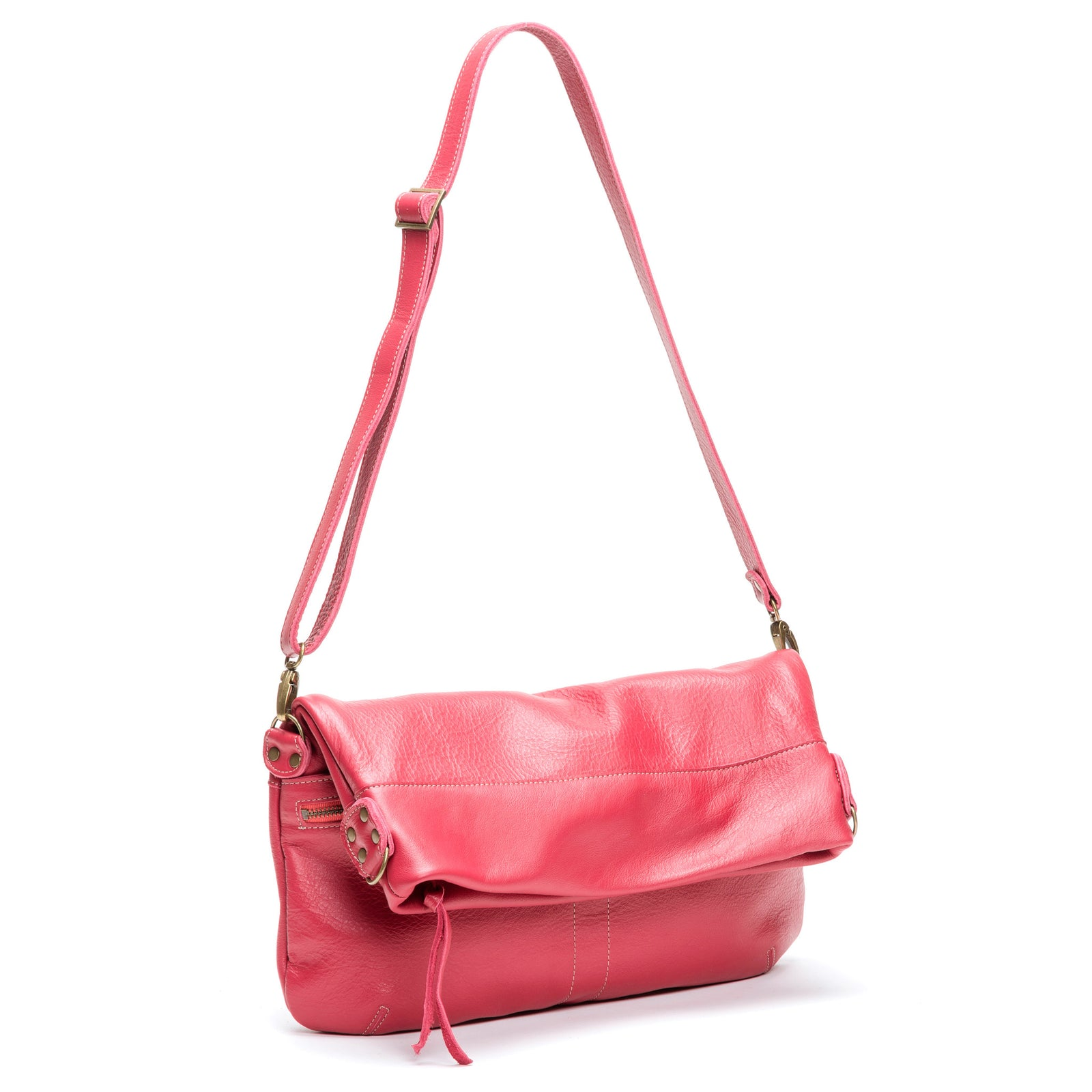 Lauren Crossbody - Sangria - Brynn Capella, Large Crossbody