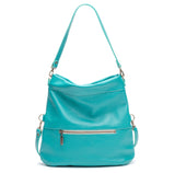 Mini-Lauren Crossbody - Blue Lagoon - Brynn Capella, Medium Crossbody