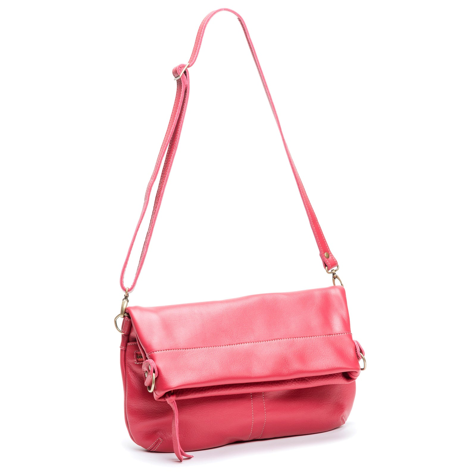 Mini-Lauren Crossbody - Sangria - Brynn Capella, Medium Crossbody