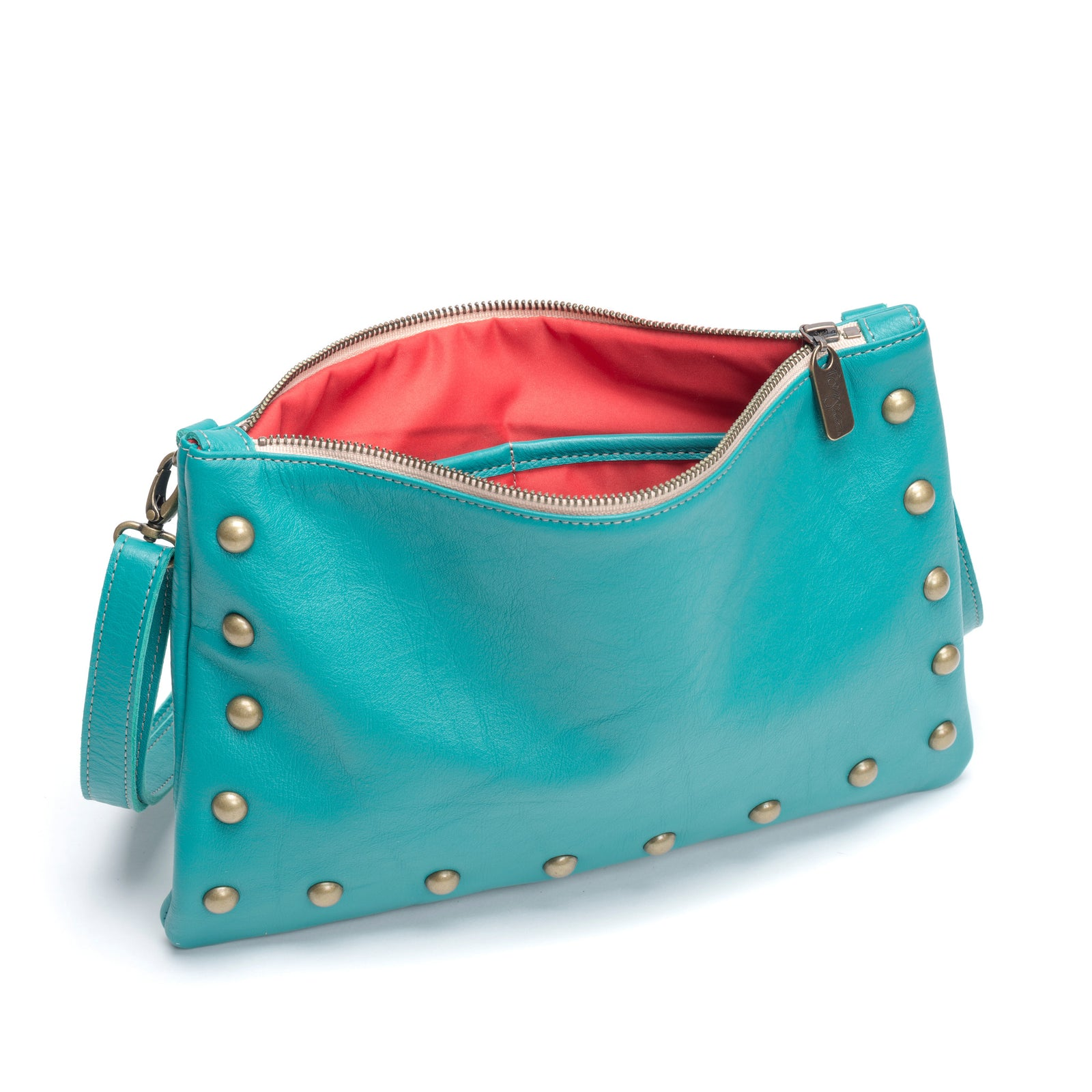Nikki Clutch/Crossbody - Blue Lagoon - Brynn Capella, Small Crossbody