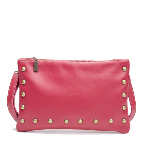 Mini-Pamela Crossbody Hobo - Lobster Tail