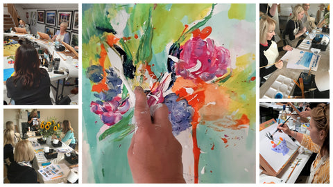 Blog: Creative Workshops, Courses and Paint Nights 2021