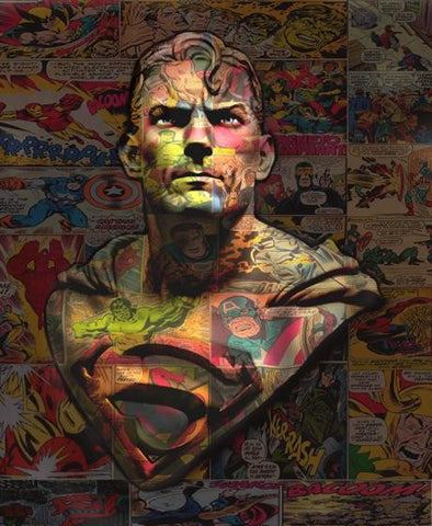 Dirty Hans 'Superman' Giclee