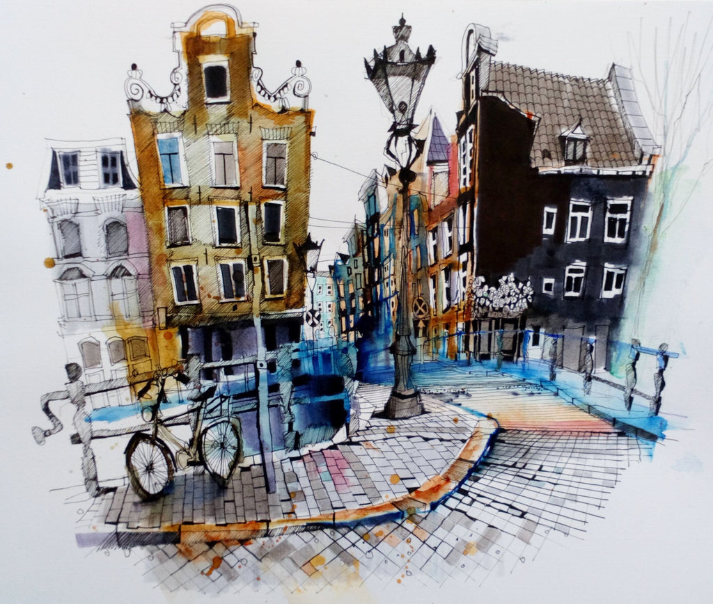 Amsterdam by Ian Fennelly