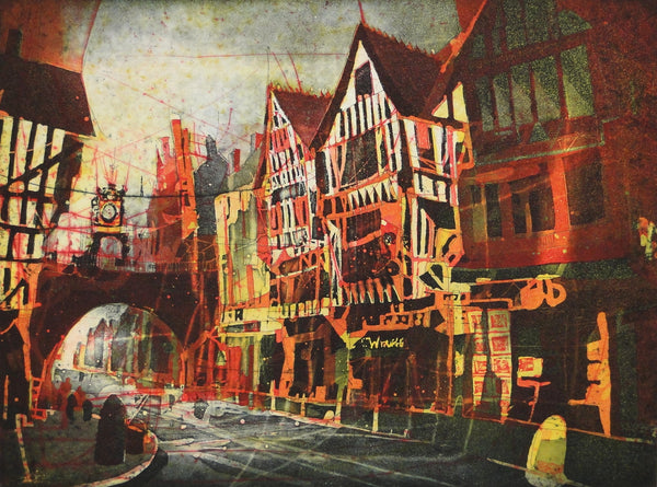 Eastgate, Chester (Etching)