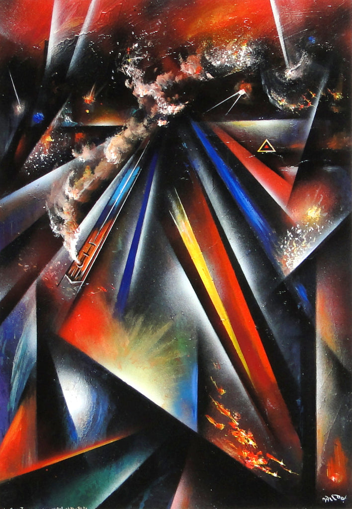 The Brave Train Running the Gauntlet of the Blitz